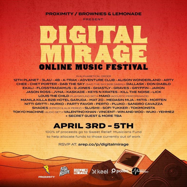 Digital Mirage – Online Music Festival