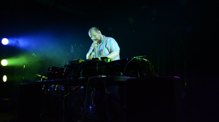 Dan Deacon Brings Magic and Sweat To The Basement East