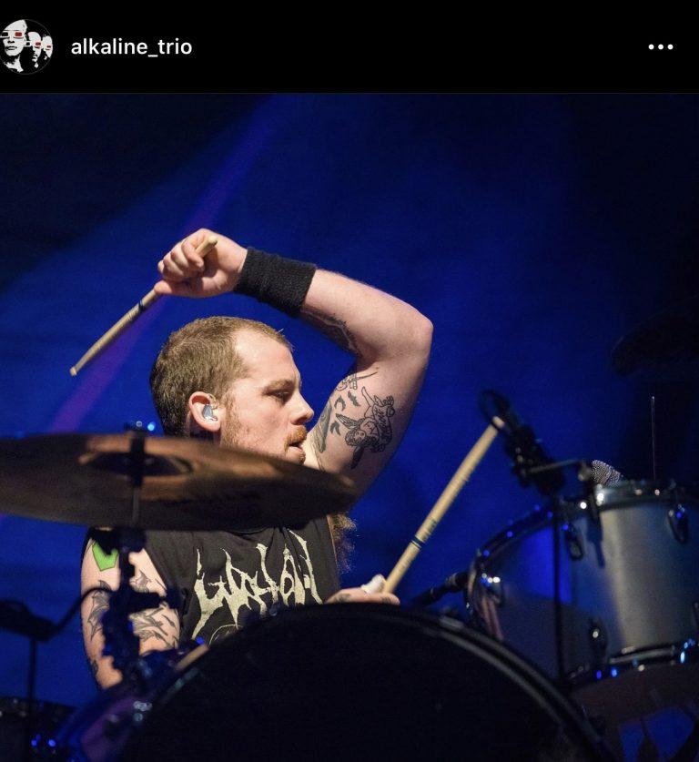 Derek Grant Returns to Alkaline Trio