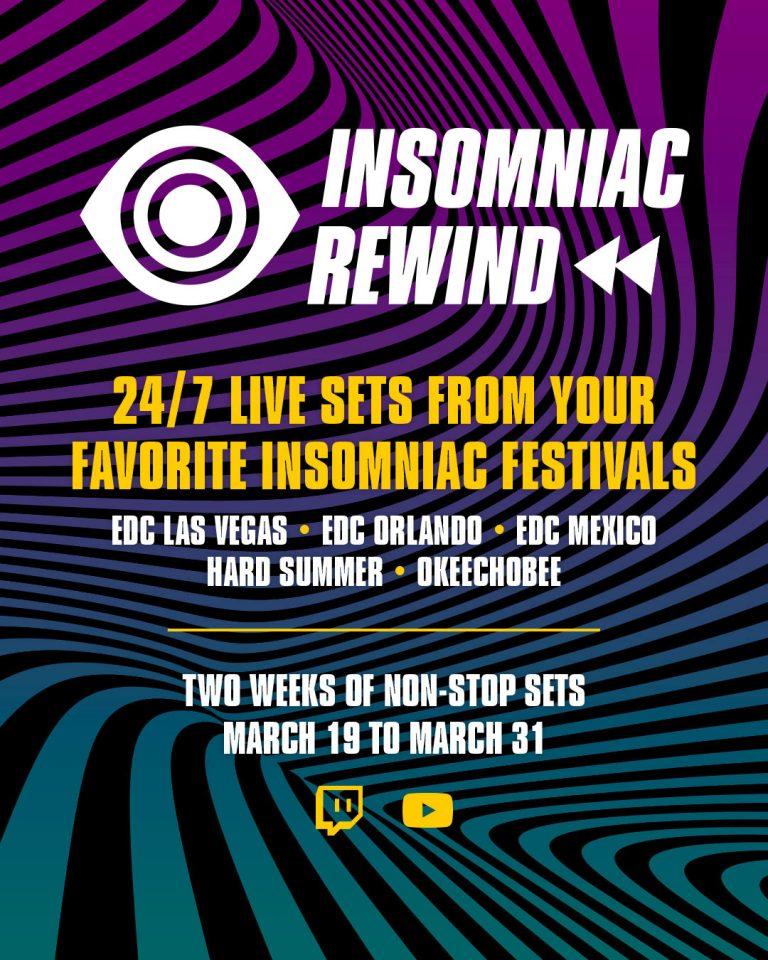 Insomniac Rewind – 24/7 Live Sets!
