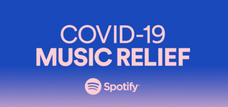 COVID-19 Music Relief: Donate and Spotify will match it