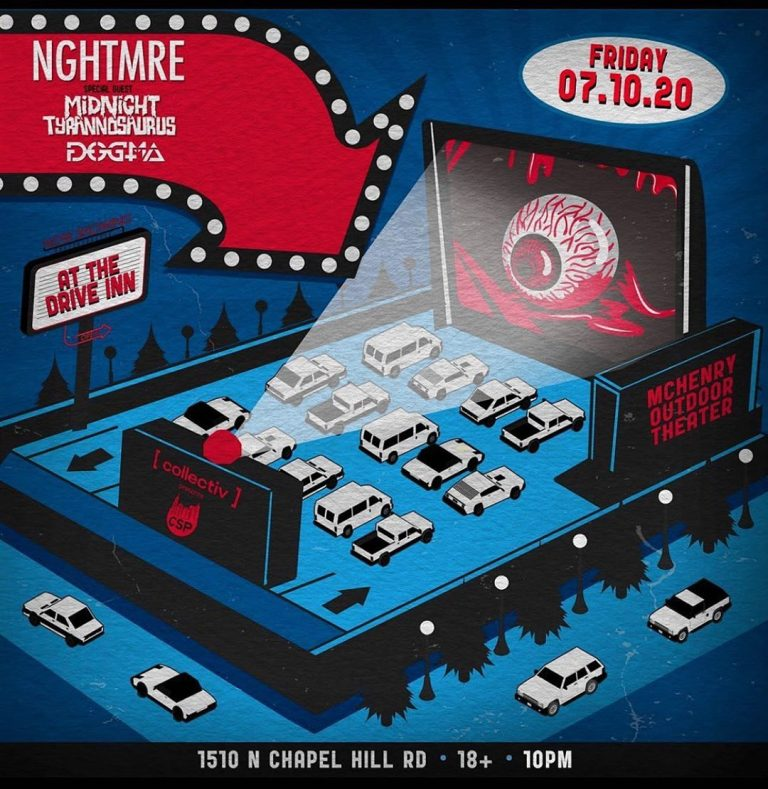 NGHTMRE, Midnight T, and Dogma at the Drive Inn!