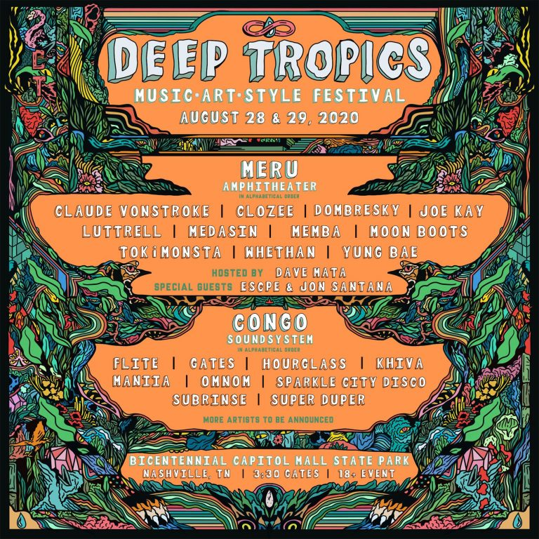 Deep Tropics Lineup Announcement Featuring CloZee, Dombresky + More