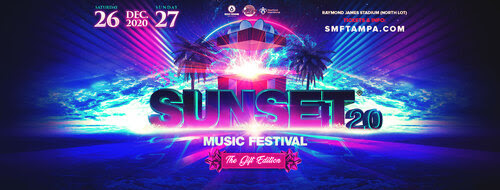 DISCO DONNIE PRESENTS AND SUNSET EVENTS ANNOUNCE  SUNSET 2.0 // RESCHEDULED