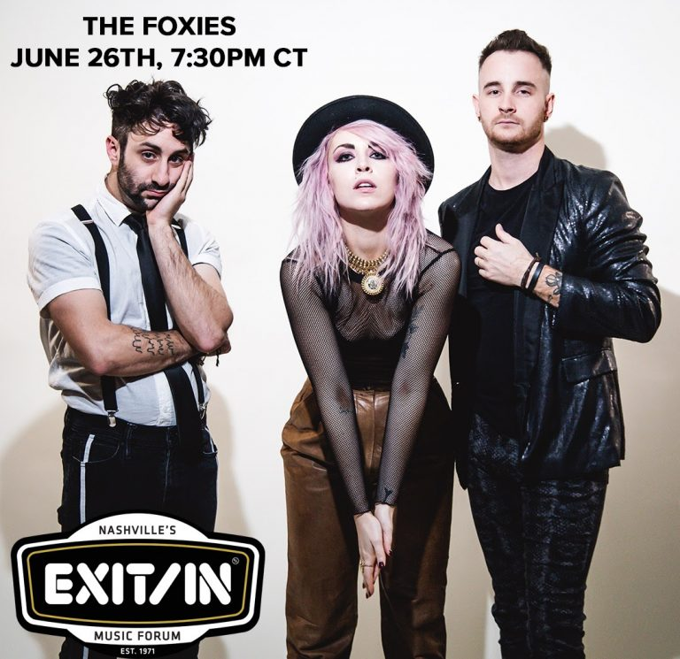 The Foxies Live Stream Friday at 7:30 PM CT
