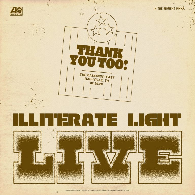 "ILLITERATE LIGHT COVERS MY MORNING JACKET | ""THANK YOU TOO! (LIVE FROM THE BASEMENT EAST)"""