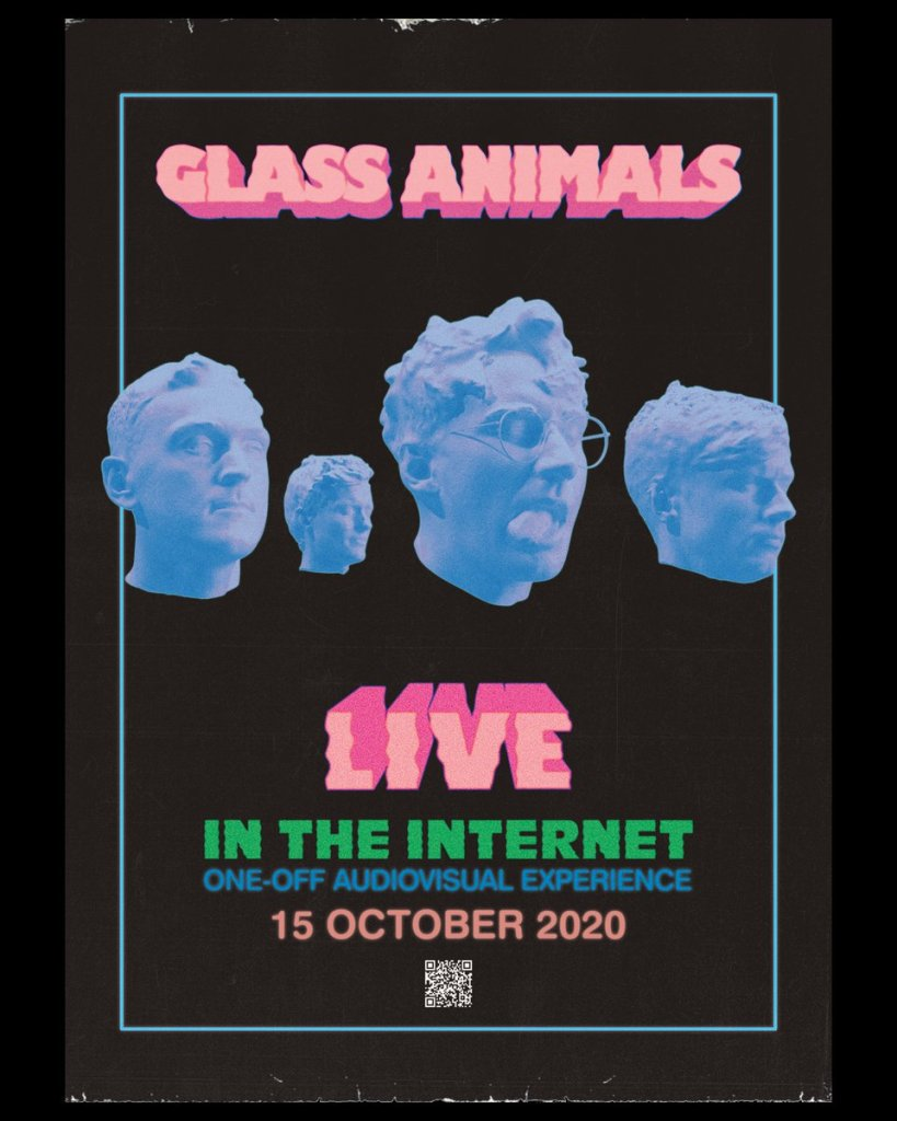 """5 day until Glass Animals' STREAMLAND """"In The Internet,"""" a one-off audio-visual experience"""